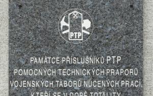 Praha 6. Pamětní deska příslušníkům pomocných technických praporů
