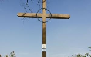 Lanžhot. Pamětní kříž
