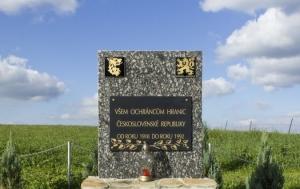 Krásná. Památník ochráncům hranic