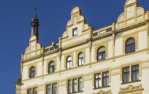 Plzeň. Pamětní deska Josefu Beranovi