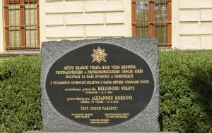 Hranice. Pomník hrdinům protinacistického a protikomunistického odboje