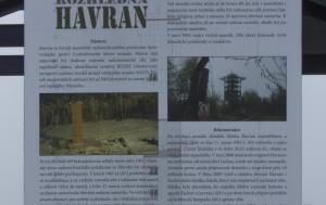 Havran. Památník železné opony