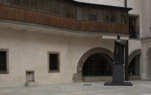 Praha 1. Pamětní deska Janu Palachovi II