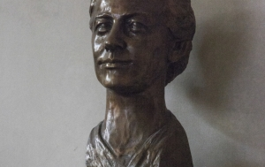 Praha 1. Busta Milady Horákové