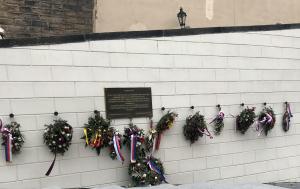 Praha 1. Pamětní desky v upomínku studentských demonstrací 25. února 1948