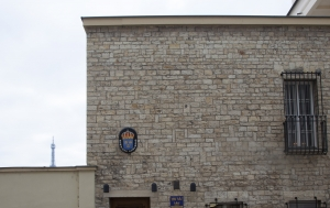 Praha 1. Pamětní deska Veleslavu Wahlovi