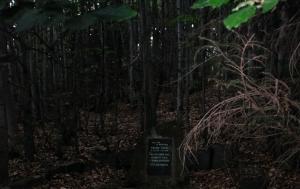 Chvalčov-Tesák. Pomník Vincenci Šimčákovi